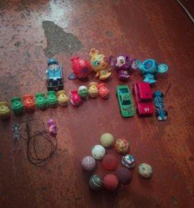 Модельки, киндер, игрушки