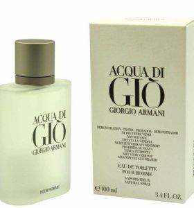 Парфюмерная вода 100 мл Acqua di gio Armani