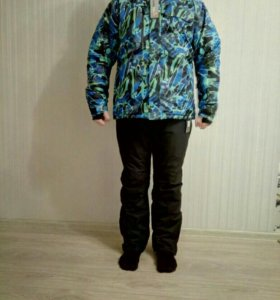 Зимний мужской новый костюм