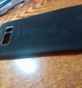 Чехол Alcantara Cover Galaxy S8 (XG950AMEGRU) б/у