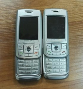 Samsung sgh-e250 2 штуки