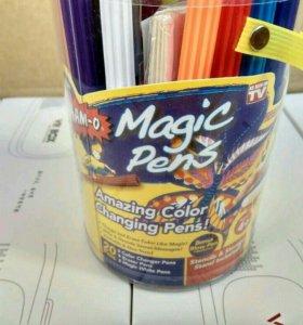 Фломастеры меняющие свой цвет Magic Pens