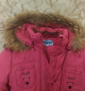 Продам куртка зимняя на девочку