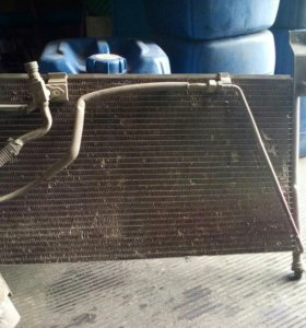 Радиатор кондиционера Mazda 626