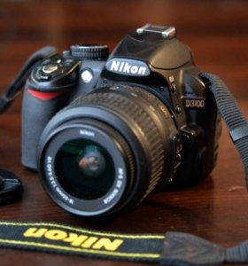 Цифровой зеркальный фотоаппарат NIKON 3100