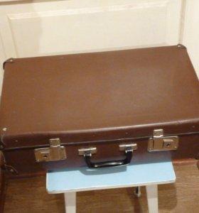 чемодан фибровый СССР