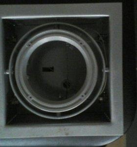 Потолочные светильники, серый 35 ватт
