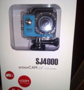 Экшн камера SJCAM SJ4000 FullHD V2.0 (оригинал)