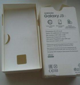 Коробка от Samsung galaxy j3