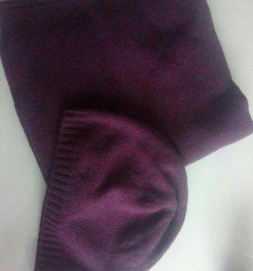 Комплект benetton оригинал шапка и шарф новые