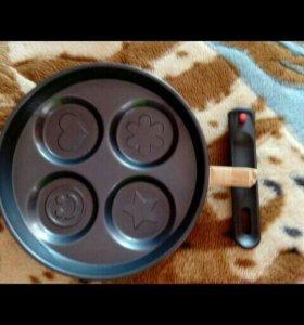 Сковорода 26диаметр,совершенно новая