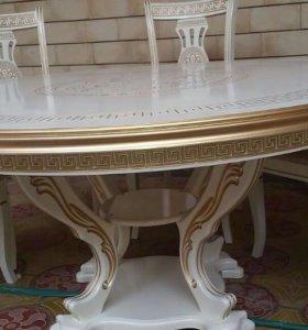 Стол раздвижной 120см Версаче