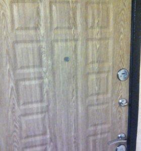 Двери пластиковые .