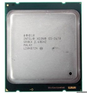 Процессор Xeon E5 2670