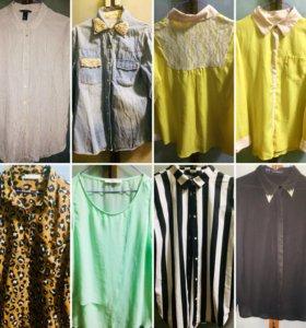 Любителям рубашек. 7 рубашек И в пир и в мир!