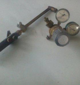 Газовый резак + редуктор