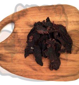 Вяленое мясо северного оленя для собак