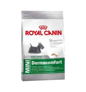 корм для собак Royal Canin Mini Dermacomfort 4 кг