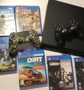 Продам PS4 Slim на 1ТБ