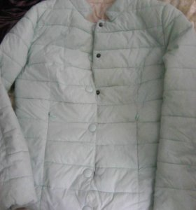 куртка демисезонная на девочку 9-10