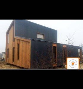 Каркасные дома,коттеджи,новые технологий.умный дом