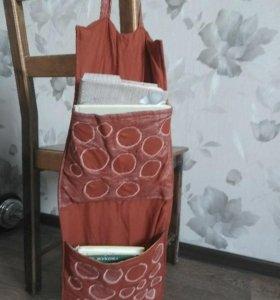 Красные кармашки ткань органайзер
