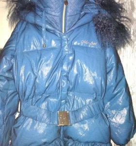 Куртка Mes Ami пуховая р-р 8