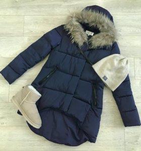 Новая зимняя куртка-пуховик