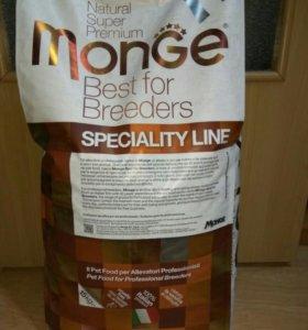 Сухой корм для щенков всех пород Monge 15 кг