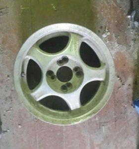 Алюминевые диски r14- wolksvagen, honda....