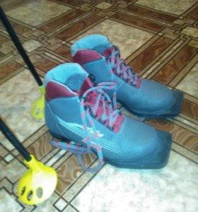 Ботинки лыжные (детские)