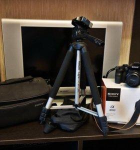 Фотоаппарат Sony α 3000 + доп.