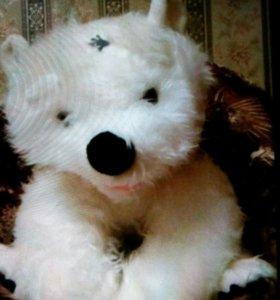 Медвежонок белый мягкая игрушка