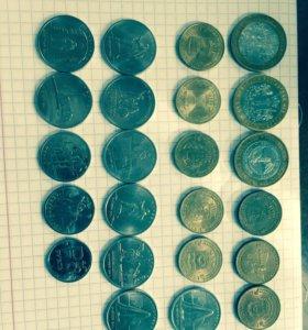 Набор современных монет России