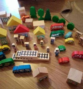 Набор кубиков Город