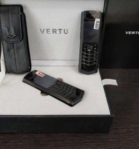 Vertu signature black/ s design