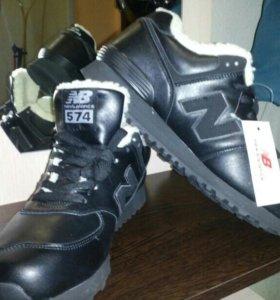 Новые мужские кроссовки зимние