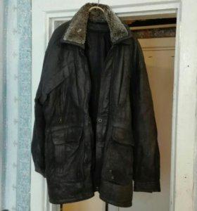 Куртка натуральная кожа раз 50—52