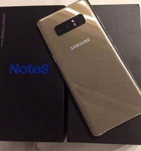 Galaxy Note 8 новый