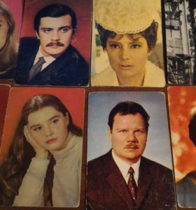 Коллекция фото советских артистов и кадров из кино