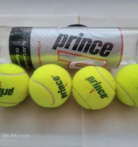 Теннисные мячи Prince(4 шт.)