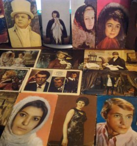 Коллекция фото советских артистов.