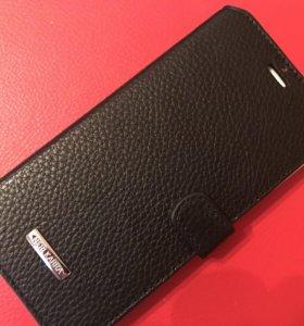 Чехол iphone 6/6s plus нат. кожа
