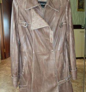 Куртка натуральная кожа р 46