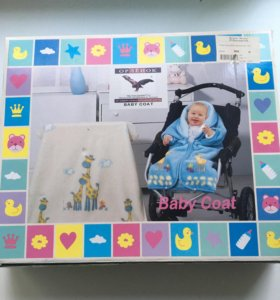 Одеяло детское для коляски