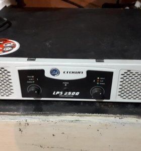 Усилитель Crown LPS 2500
