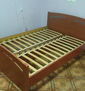 Кровать двух спальную