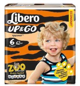 Подгузники- трусики Либеро 6