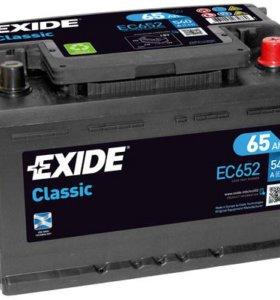 Автомобильный аккумулятор  EXIDE EC652