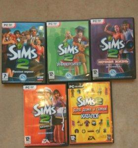 Sims 2 лицензия.